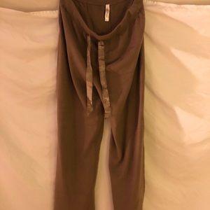 Light brown pajama bottoms
